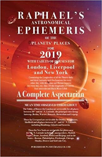 Raphael's Astronomical Ephemeris 2019