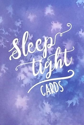 Sleep tight cards