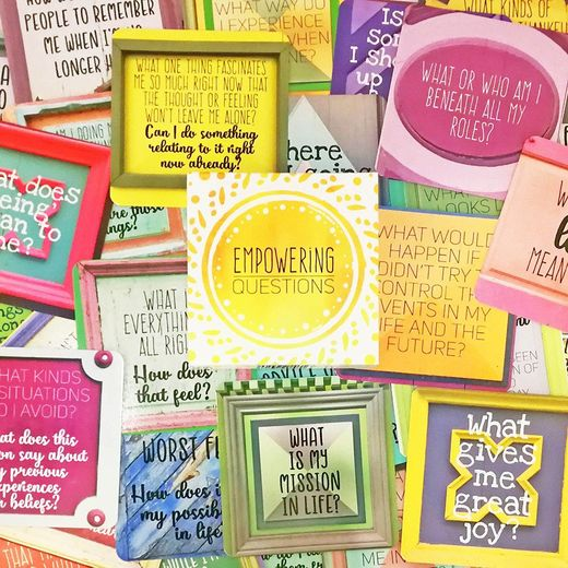 Empowering Questions Cards