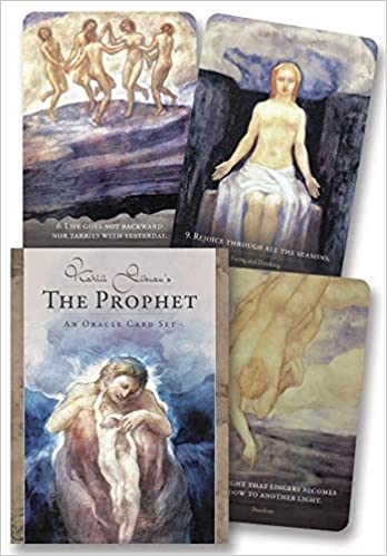 Kahlil Gibran's The Prophet oracle card set